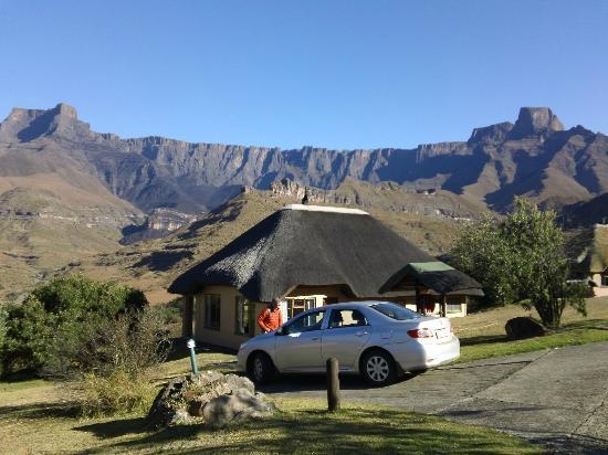 Thendele Hutted camp: Thendele upper camp chalet