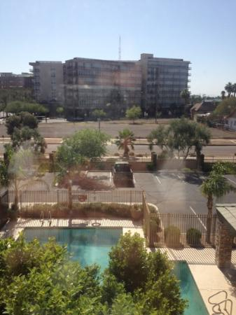Holiday Inn Express Phoenix Downtown: view from a guest room