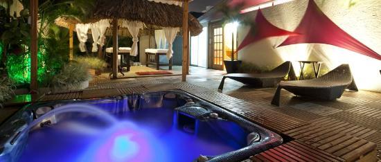 Hotel Alicante Boutique Spa: ZONA HUMEDA...YACUSSI, SAUNA Y BAÑO TURCO