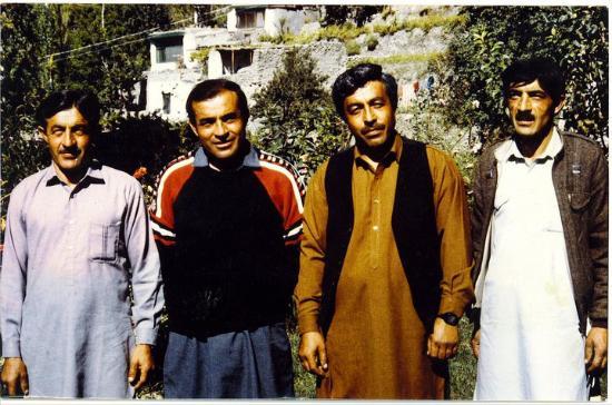 Hilltop Hotel Hunza: Founders of Hilltop Hotel Karimabad Hunza
