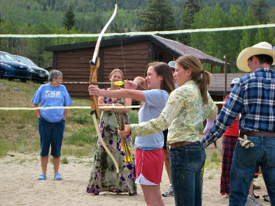 Elk Mountain Ranch: archery