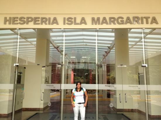 Hesperia Isla Margarita: La entrada