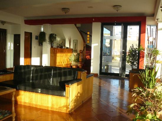 Hotel Solyma: loby