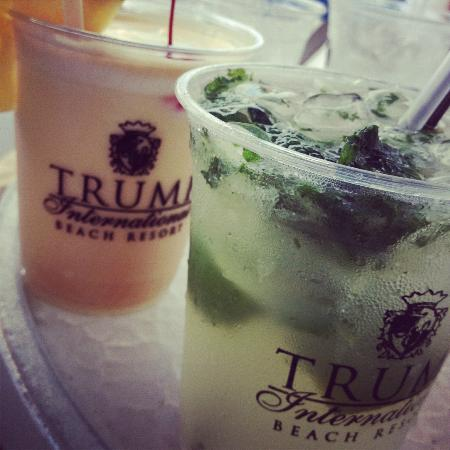 Trump International Beach Resort: expensive drinks! ($10-12 each)