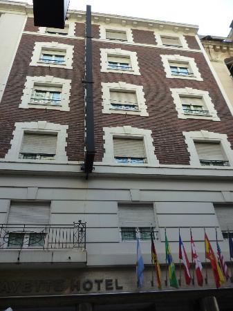 Lafayette Hotel: Janelas do hotel