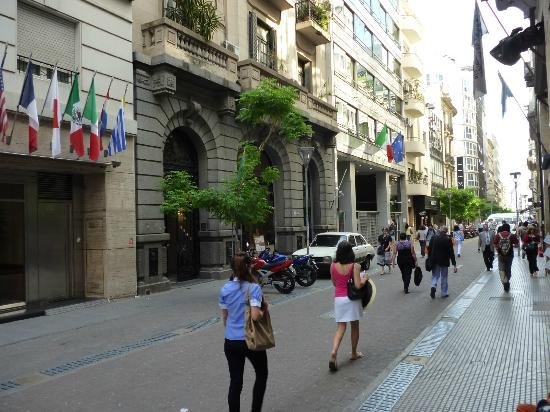 Lafayette Hotel: Rua Reconquista, 546