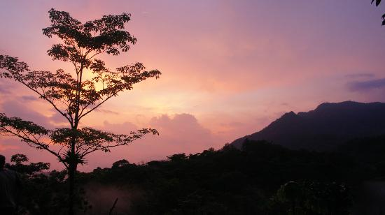 Villas Mastatal: sunset