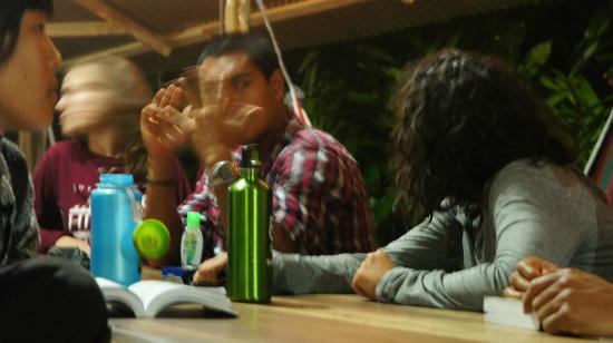 Villas Mastatal: hanging out