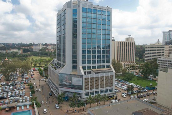 Chester House: Looking over Nairobi