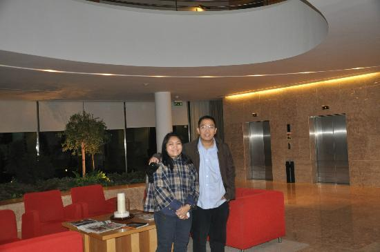 Santa Maria Hotel -- Fatima: Me and my husband