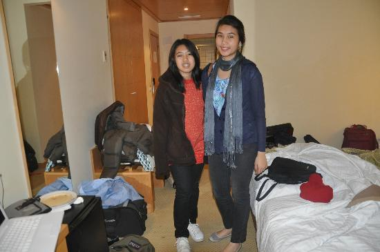 Santa Maria Hotel -- Fatima: My 2 lovely daughters inside their room