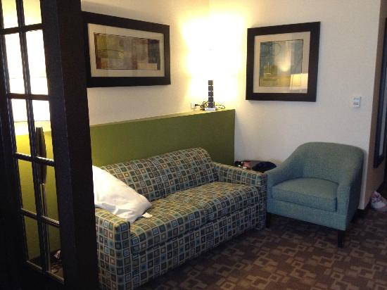 Comfort Suites Lake City : Room with pull out.