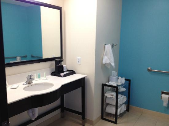 Comfort Suites Lake City : Huge Handicap bathroom