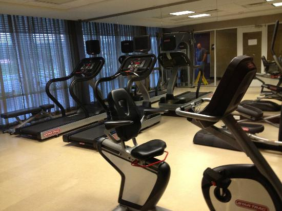 Comfort Suites Lake City: Work out area is Nice