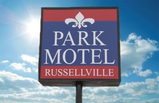 Park Motel Russellville: Exterior View