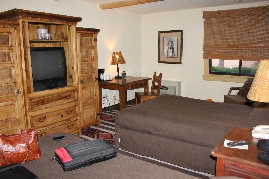 โรงแรมลอดจ์แอทซานต้าเฟ: Small room for 2 beds