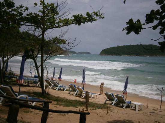 Nai Harn Beach sun beds
