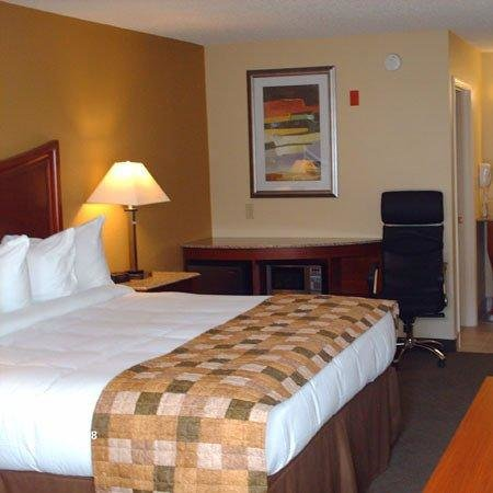 ‪‪Atkinson Inn & Suites‬: King Size Beds with Down Comforters, Microwave, Refrigerator‬