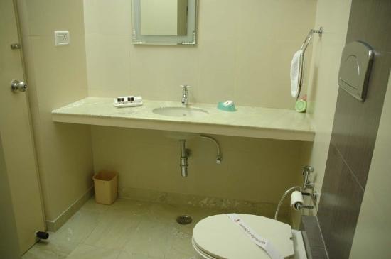 Hotel Silver Plaza: Bathroom
