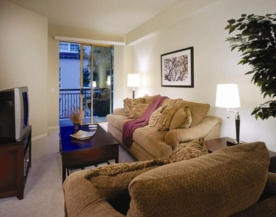 Oakwood at Riverview Landings : Living Room