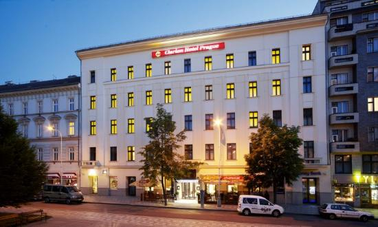 Clarion Hotel Prague City: Exterior night