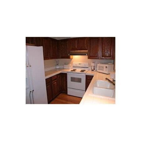 Trail Creek Condos: Kitchen 1