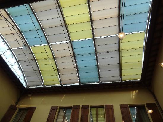 La Locanda Bagnara: Restaurant roof 
