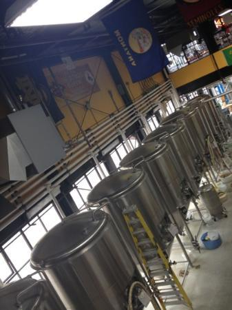 Great Northern Brewing Company: vats