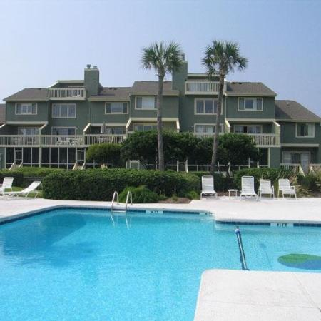 Wild Dunes Resort : Condos Pool