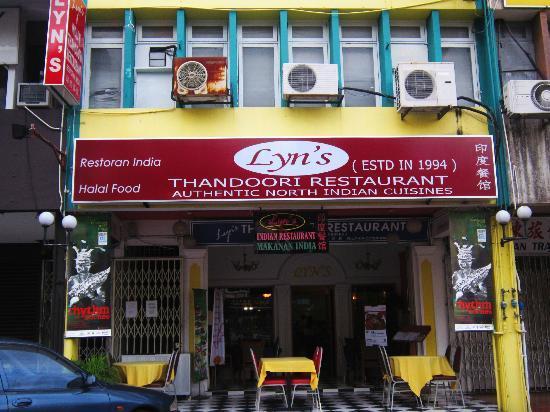 Lyn's Thandoori Restaurant: Lyn's restaurant exterior