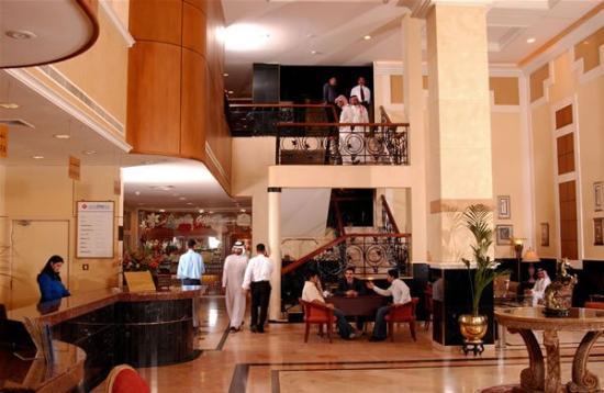 Ramee Baisan Hotel Bahrain : Lobby View