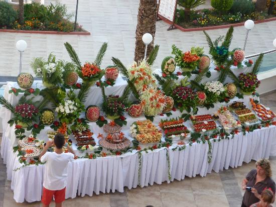 Saphir Resort & Spa : buffet