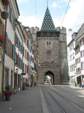 Spalentor (Stadttor): City Gate from West