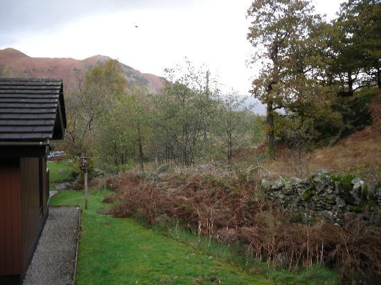 Hartsop Fold: View from the covered veranda