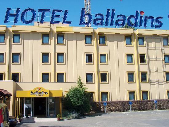 Hotel balladins Bobigny: hotel jak hotel