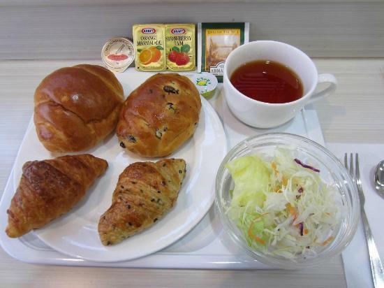 ヴィアイン京都四条室町, 朝食