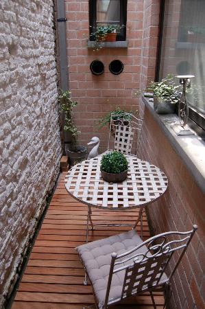 Charming Poppy: Terrasse
