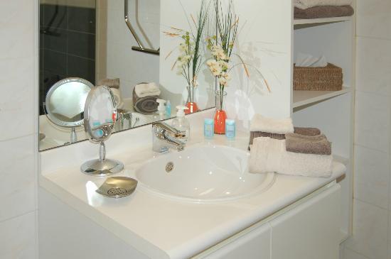 Charming Poppy: Vue salle de bains