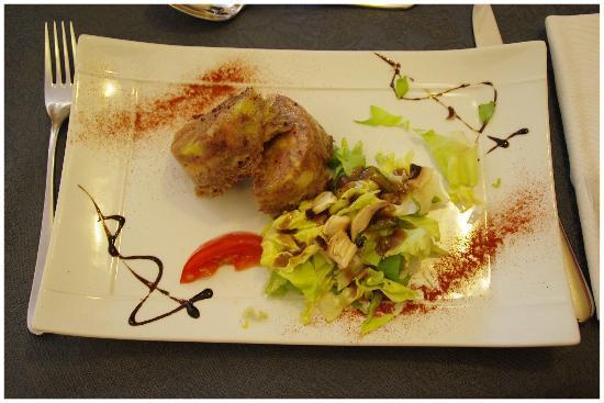 Hotel Restaurant Le Bon Duc: Un des plats