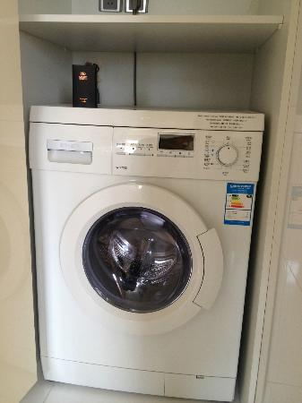 Ascott Guangzhou: washer-dryer : Excellent!