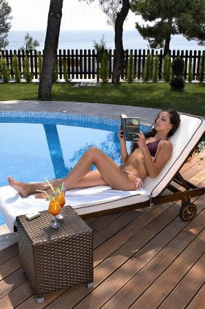 Alexandra Beach Thassos Spa Resort: Private Pool