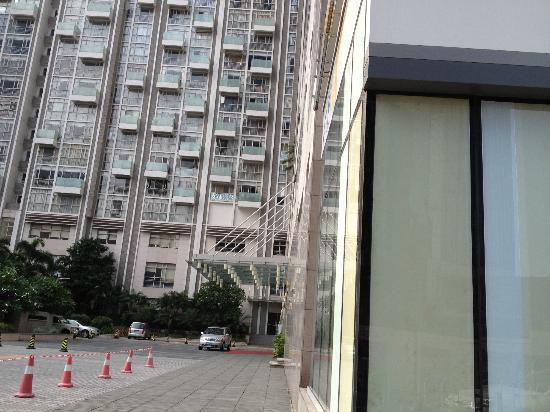 Ascott Guangzhou: hotel from outside