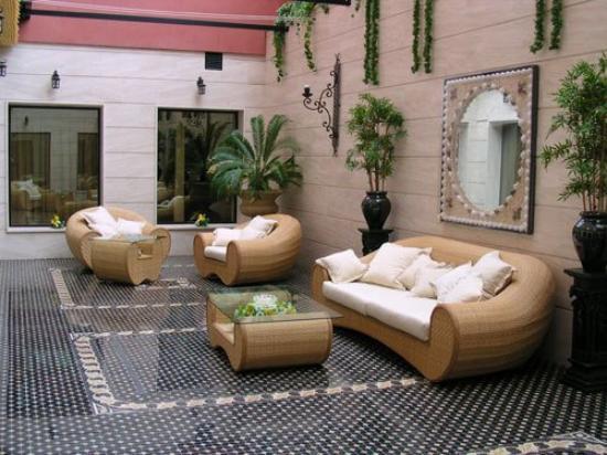 Hotel Santiago: Lobby view
