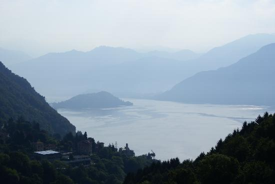 Locanda Sant'Anna : vue sur le lac