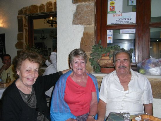 Agia Marina, Greece:                                                       Ioanna,Mary & Manolis