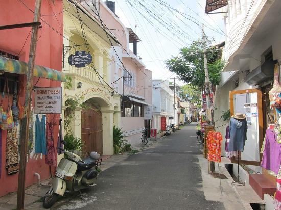 Beena Homestay: Street, Fort Kochi