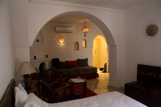 Riad Alma: our suite