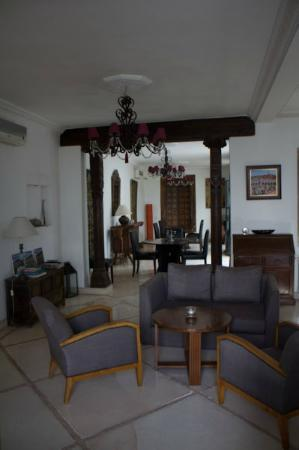 Riad Alma: lounge area