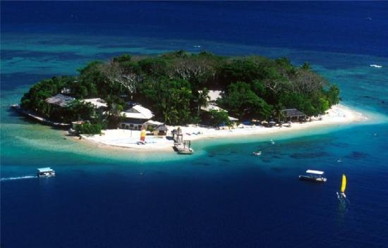 Hideaway Island Resort: Hideawayaerial