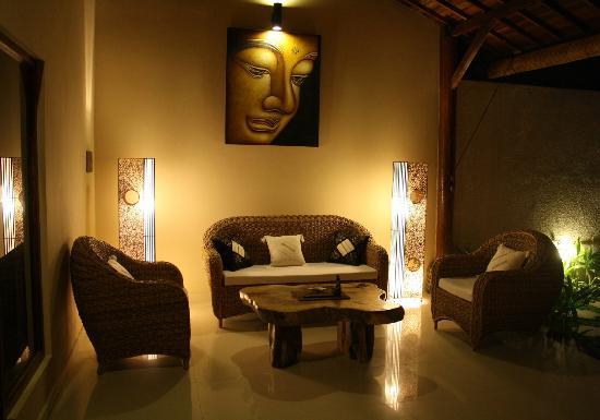 Villa Belharra: Lounge
